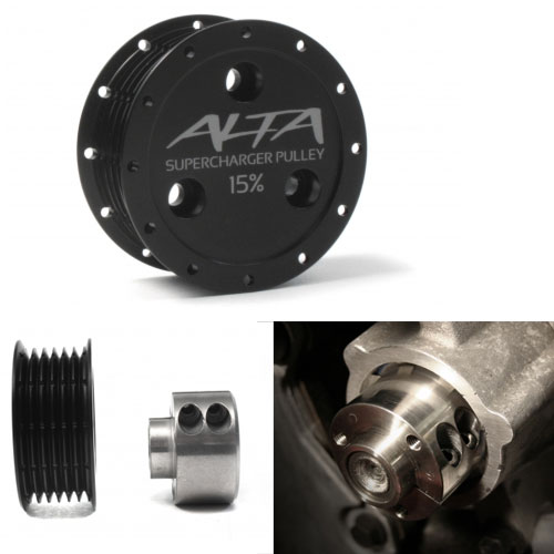Alta 15% pulley - Like a vitamin for your MINI!