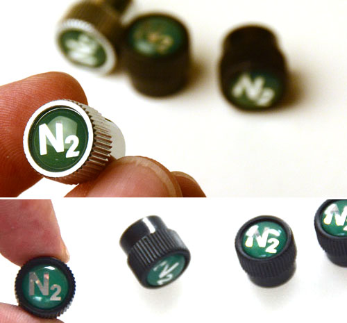 N2 Nitrogen Valve Stem Covers for MINI Cooper