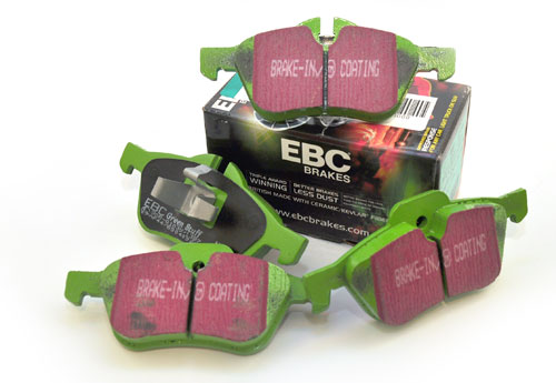 EBC Greenstuff Brake Pads for MINI Cooper