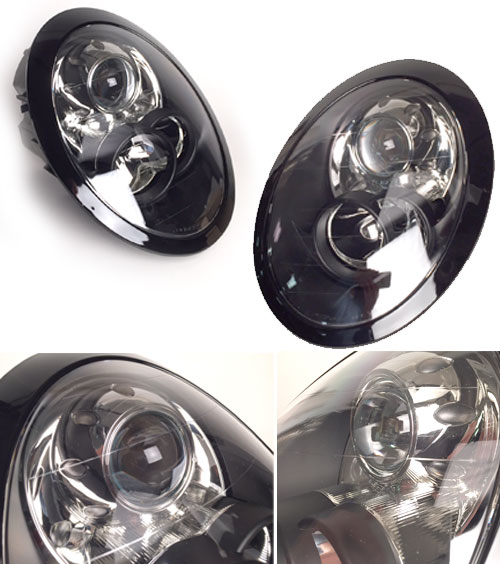 Black Headlights for MINI Cooper