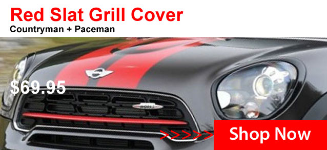 Red Slat Grill Covers for F Series + R60/61