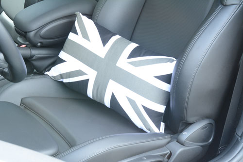 MINI Cooper Union Jack or Black Jack Pillow