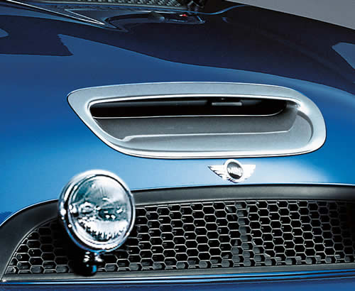MINI Cooper Chrome Hood Scoop