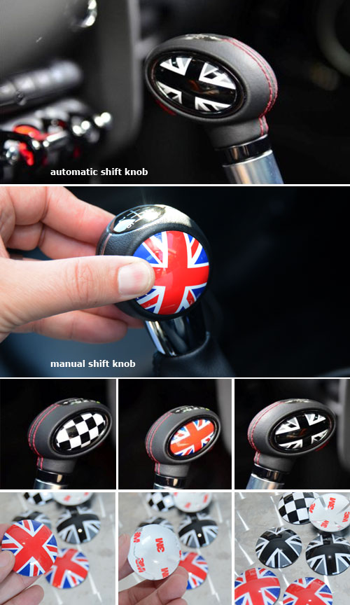 MINI Cooper Shift Knob Accents