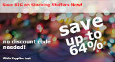 Save Big on Stocking Stuffers