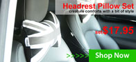 Headrest Pillows for MINI Cooper