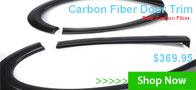 Carbon Fiber Door Trim + Flywheel / Clutch Kit