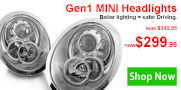 Save up to 43% on MINI Lighting today.