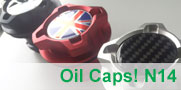 Accented Oil Cap for MINI N14 Engine