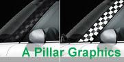 MINI Cooper A Pillar Graphics