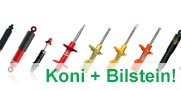 Full line of Koni + Bilstein Suspension now available!