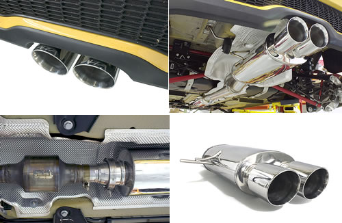 Mini Cooper R56 8 S Turbo Exhaust By Alta Amp Ext 130br