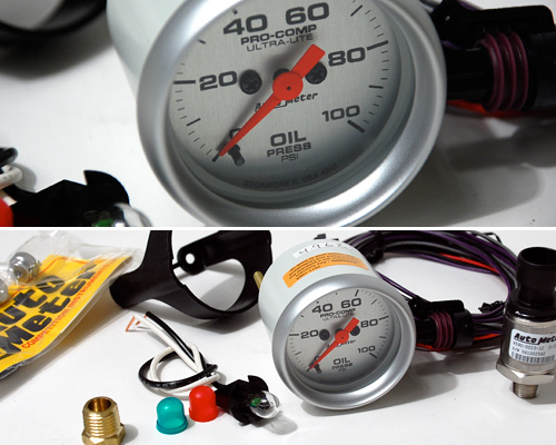 Autometer Oil Pressure Gauge: Electrical