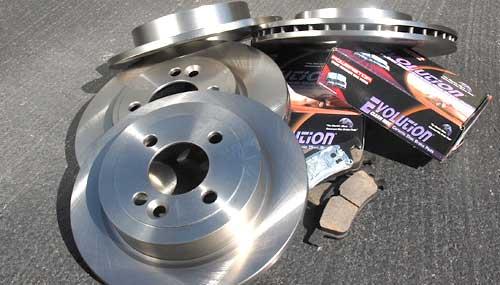 Stage 1 Brake Kit: Budget Master