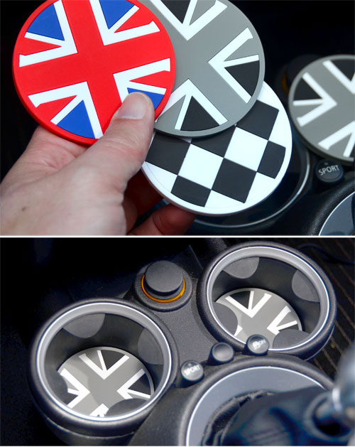 Mini Coooper Cupholder Inserts Cooper Accessories Parts