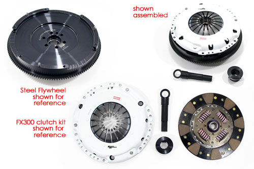 Mini Cooper JCW 2007-2011 . Clutch Masters 03635-HDC6-AK Single Disc Clutch and Flywheel Kit with Heavy Duty Pressure Plate