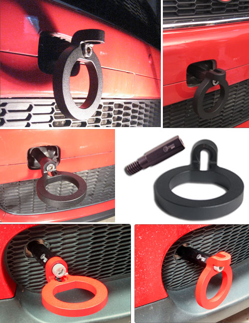 Deluxe Tow Hook for MINI Cooper