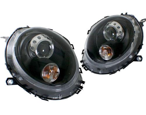 Black Headlights: Projector Style: Gen 2