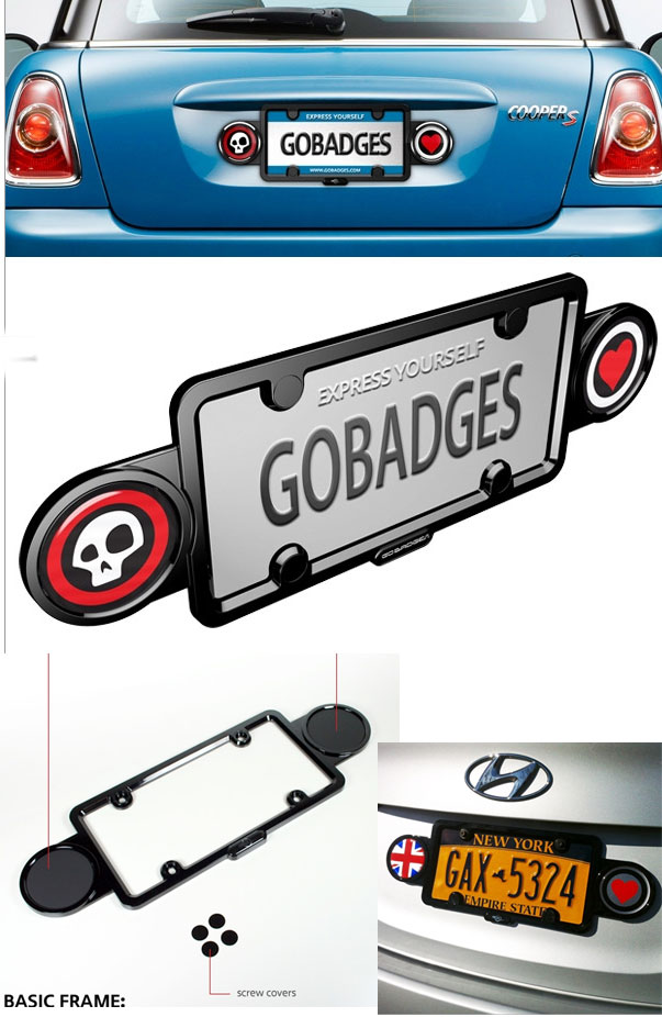 MINI Cooper Double License Plate Frame Badge Holder - MINI Cooper Accessories + MINI Cooper Parts  sc 1 st  OutMotoring & MINI Cooper Double License Plate Frame: Badge Holder - MINI Cooper ...