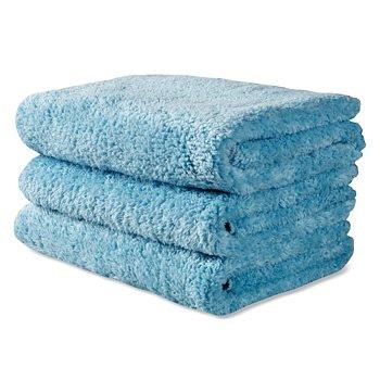 3 Griots Micro Fiber Speed Shine Towels: Light Blue