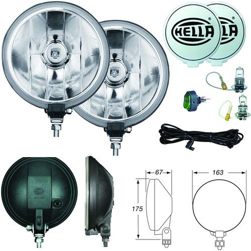 Hella FF500 Driving Light Kit