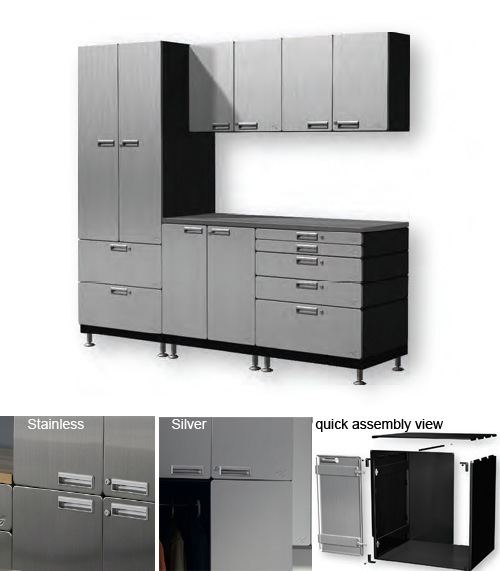 Hercke Workstation with Additional Drawers