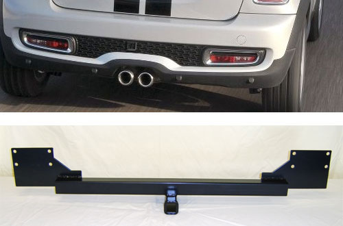 MINI Cooper Hatchback Convertible Cooper Towing Hitch - MINI Cooper ...