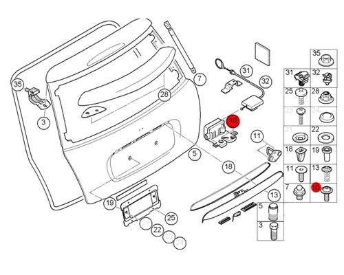 mini cooper 2004 lighting wiring diagram database Mini Countryman 2017 07147130935 mini cooper replacement torx bolt w washer mini 2014 mini cooper s 07147130935 mini cooper