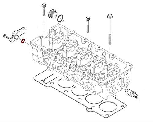 mini cooper camshaft position sensor