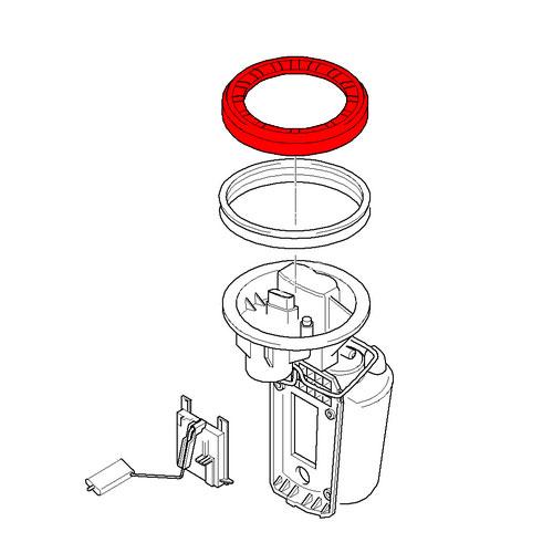 16116762417 mini cooper screw cap for fuel pump and fuel level sensor