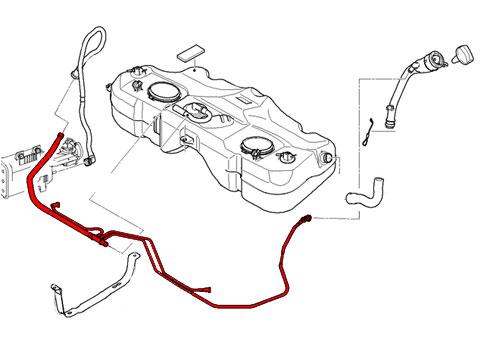 2003 Taurus Fuel Filter Location
