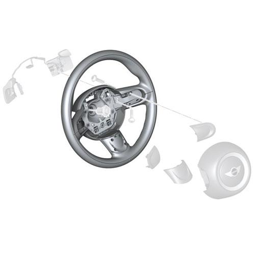 mini cooper 32306794625 sport steering wheel leather for. Black Bedroom Furniture Sets. Home Design Ideas