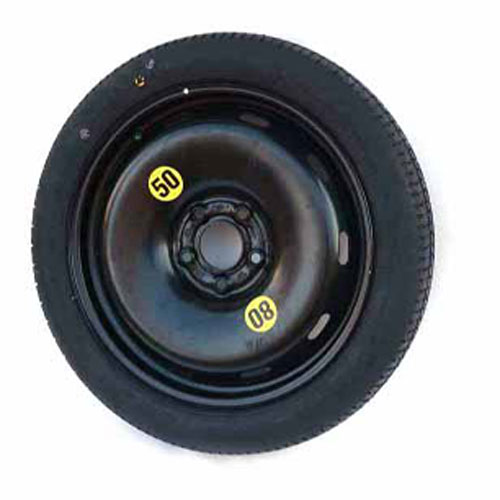 Micro Spare Tire + Wheel: 5 Lug: F54 + F60