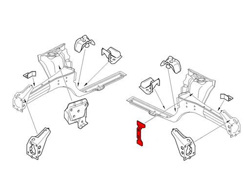 41107035260 mini cooper replacement fuse box holder