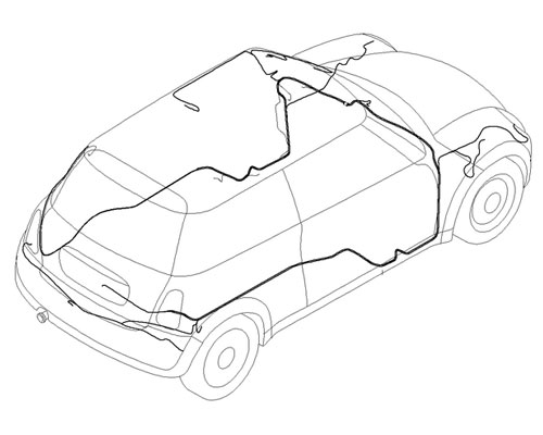 Mini Cooper S Main Wiring Harness