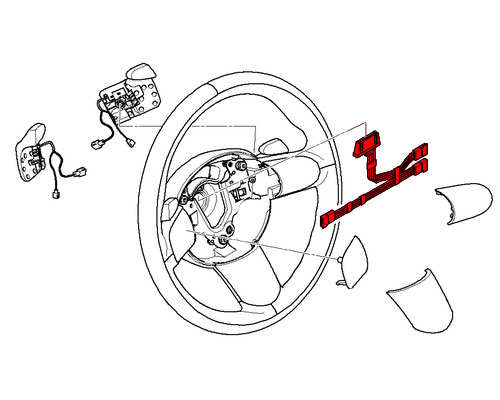 61316954015 mini cooper steering wheel controls wiring