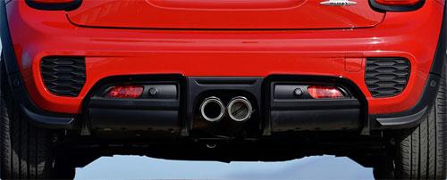 Mini Cooper S F56 F55 F57 Jcw Pro Rear Diffuser Kit Mini