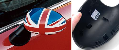 Side Mirror Caps: Gen1: Union Jack