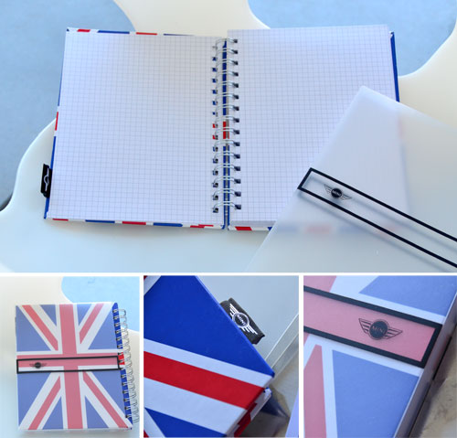 MINI Notebook: Union Jack