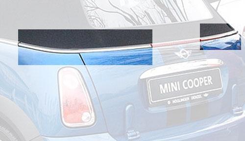 Convertible Rear Beltline Trim Replacement Kit: R52