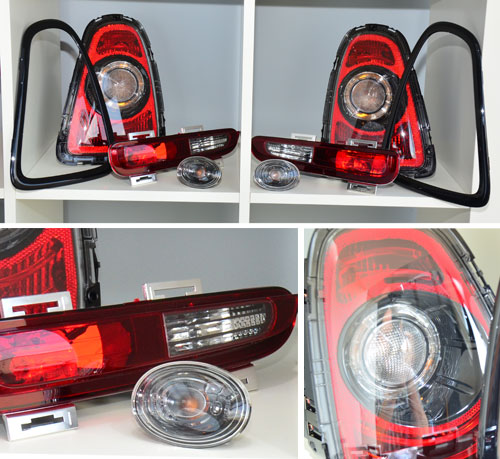 BlackLine Light Kit: R56/7/8/9