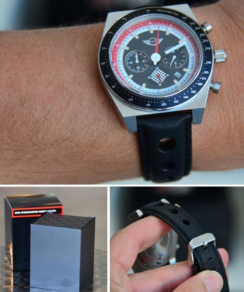 MINI Chronograph Watch: Silver