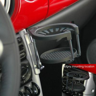 Twin Turbo Mini Cooper >> MINI Cooper Cup Holder - MINI Cooper Accessories + MINI Cooper Parts