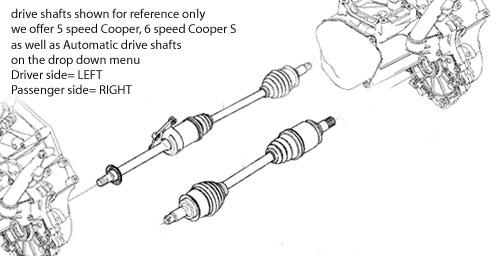 Replacement Drive Shaft
