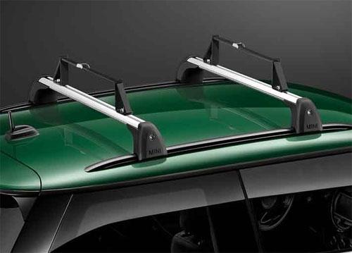 mini cooper rf56 hatchback bike rack roof rack rails mini cooper accessories mini cooper parts. Black Bedroom Furniture Sets. Home Design Ideas