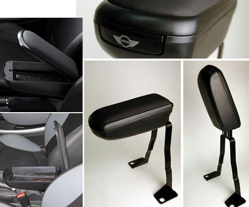 Fliptop Armrest w/ Storage: R50/2/3