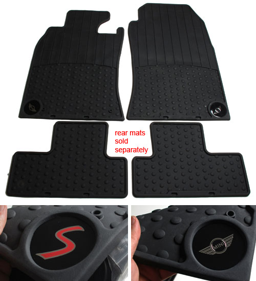Floor Mats: Rubber: R50/52/53