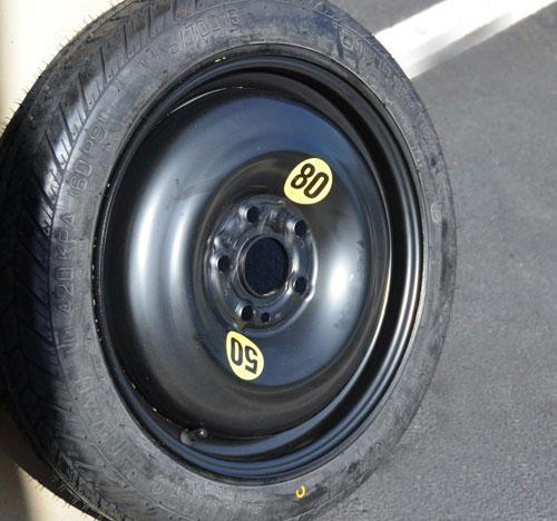 Mini Cooper Temporary Tire Micro Space Saver Spare Tire