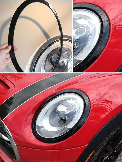 Four Door Convertible >> MINI Cooper Blackout HeadLight Rings Gen3 MINI F56 - MINI Cooper Accessories + MINI Cooper Parts