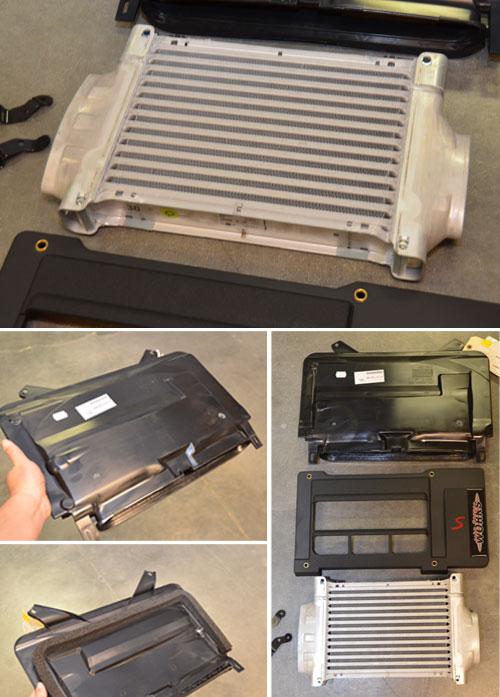 GP MINI Cooper R52/3 S High Flow Intercooler Kit DDM ...